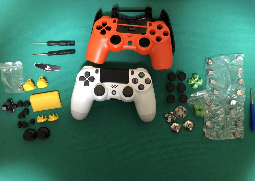 PS4コントローラー修理に用意した物 1式