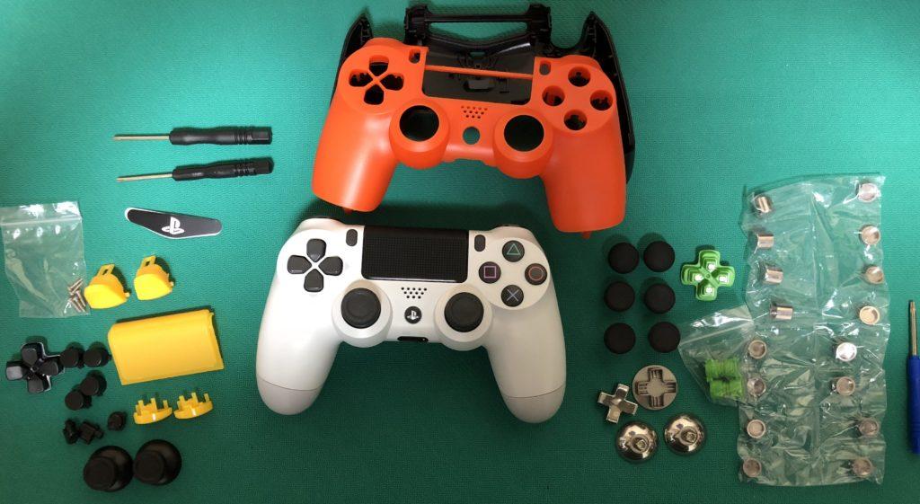 PS4コントローラー修理・改造に用意したもの