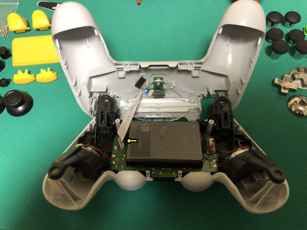 PS4コントローラー修理