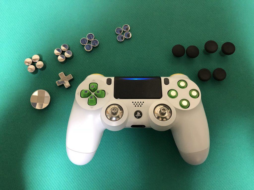 PS4コントローラー改造パーツ