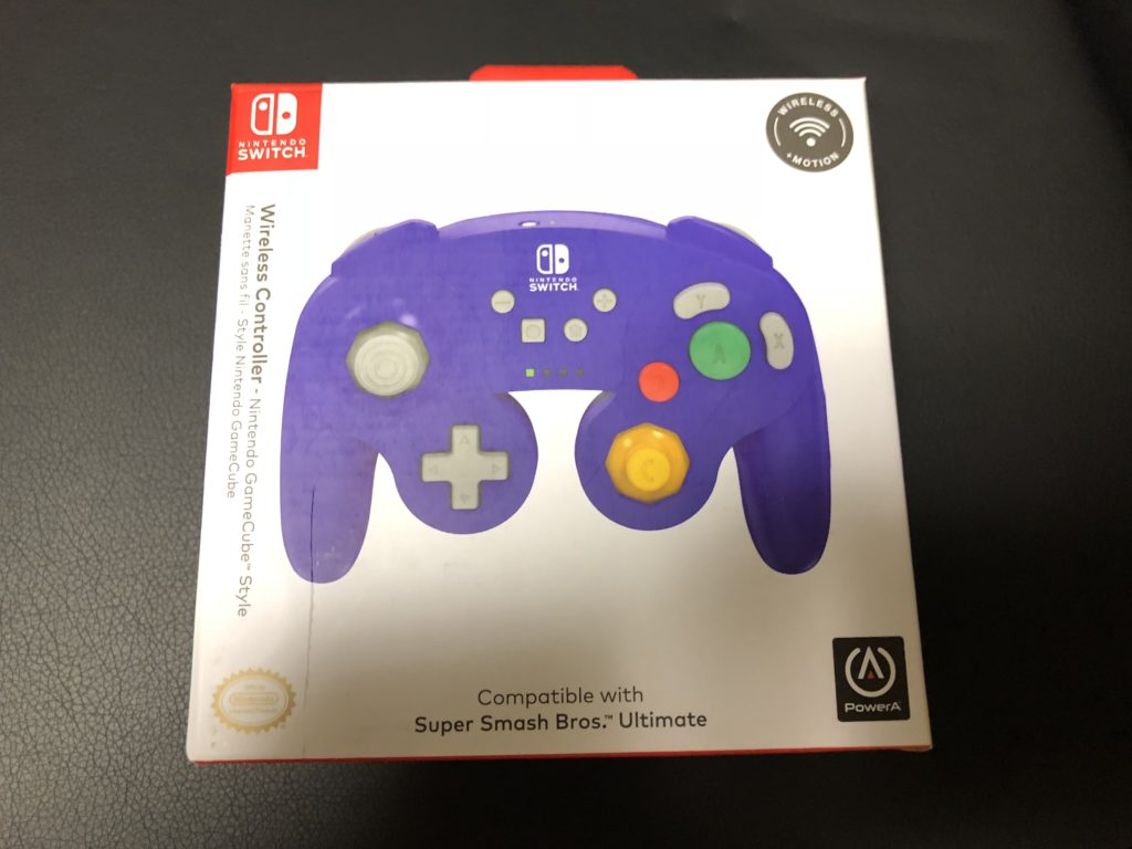 PowerA Wireless Controller for Nintendo Switch – GameCube Style 箱