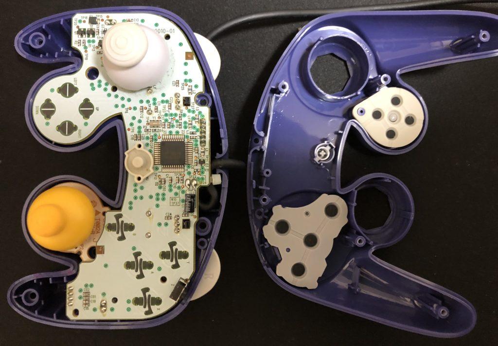 ゲームキューブコントローラー 分解