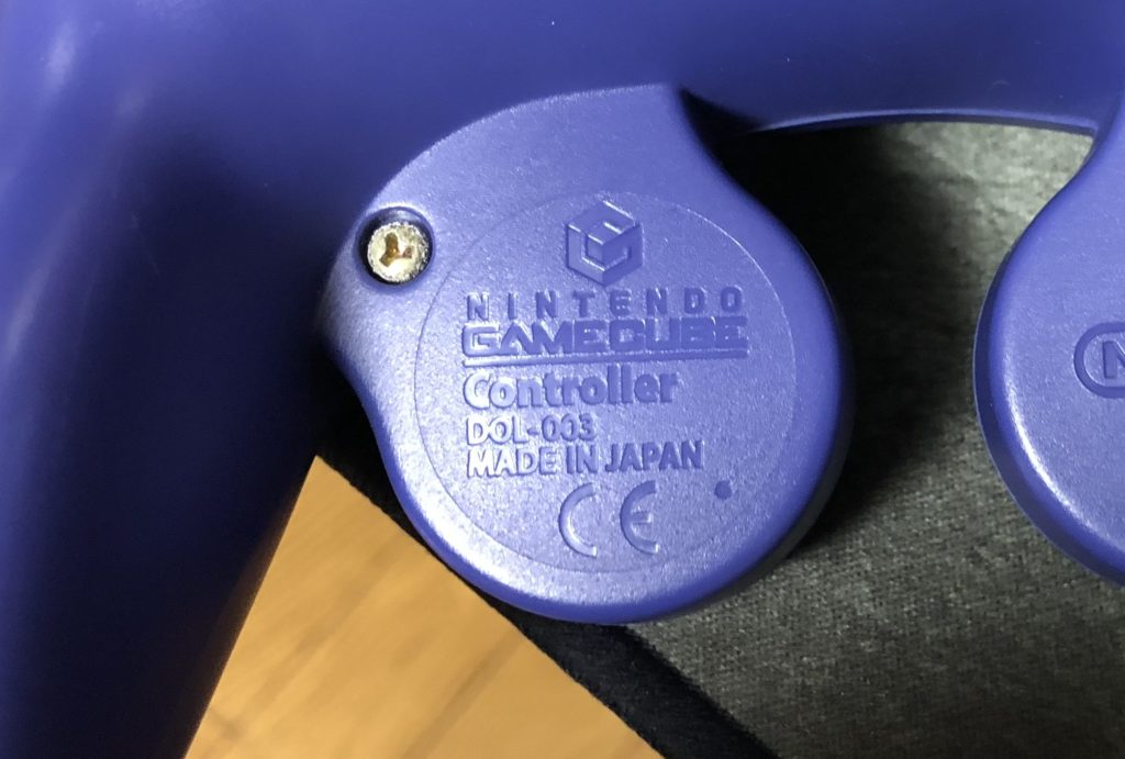 ゲームキューブコントローラー 後期型