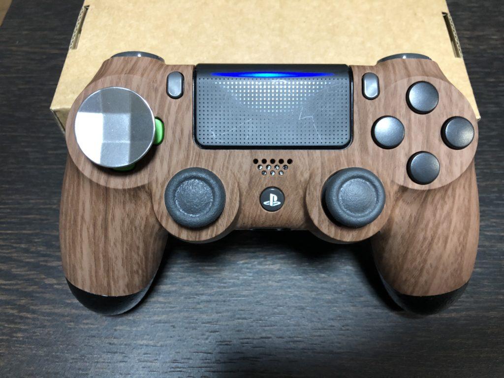 PS4 コントローラー用 リマッピング機能&背面ボタン付きバックシェル