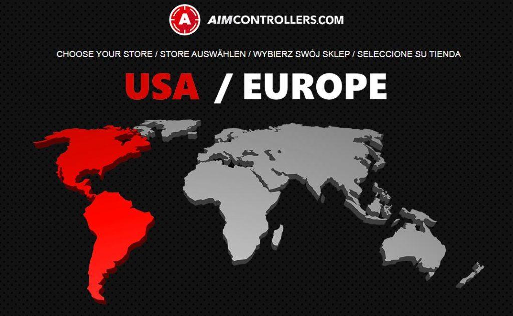 エイムコントローラーはアメリカとヨーロッパで展開