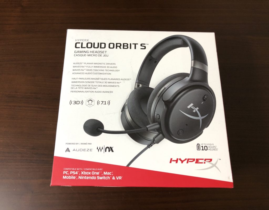 HyperX Cloud Orbit S 外箱