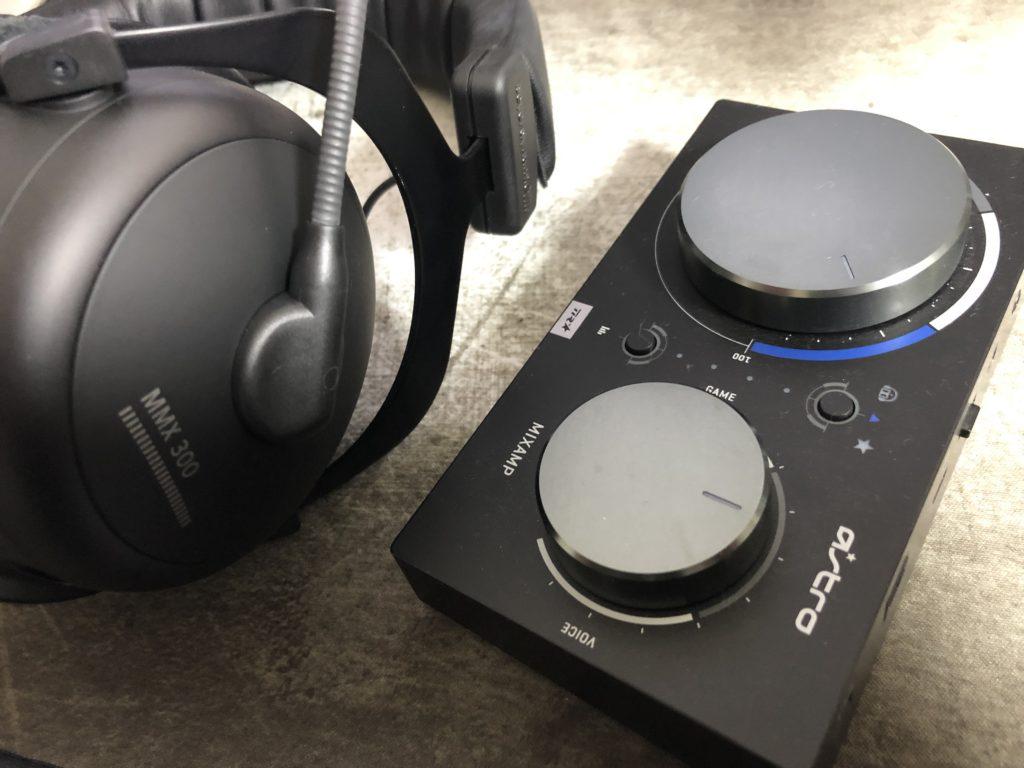 MMX 300 2ndとミックスアンプ