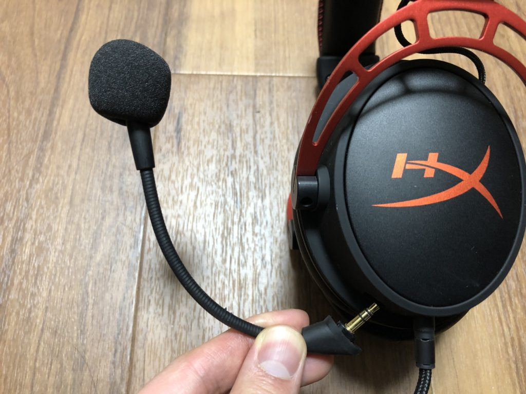 HyperX Cloud Alpha マイク